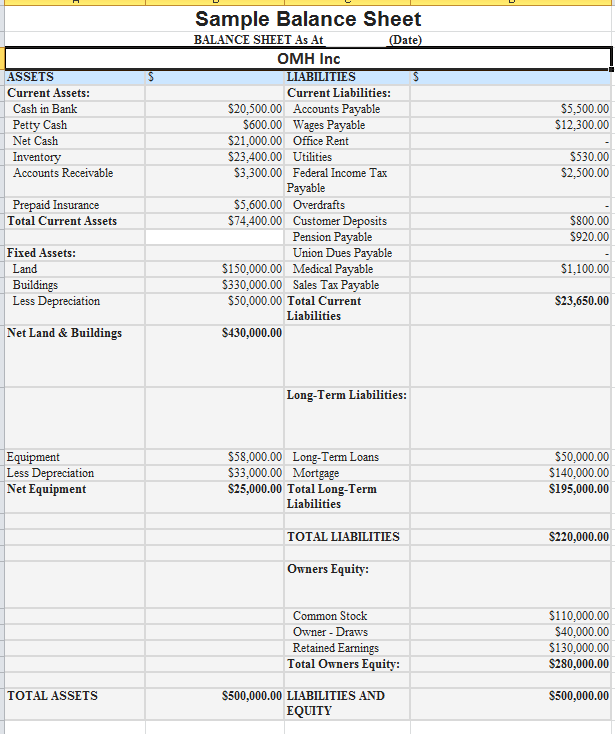 Balance Sheet-Sample-Image