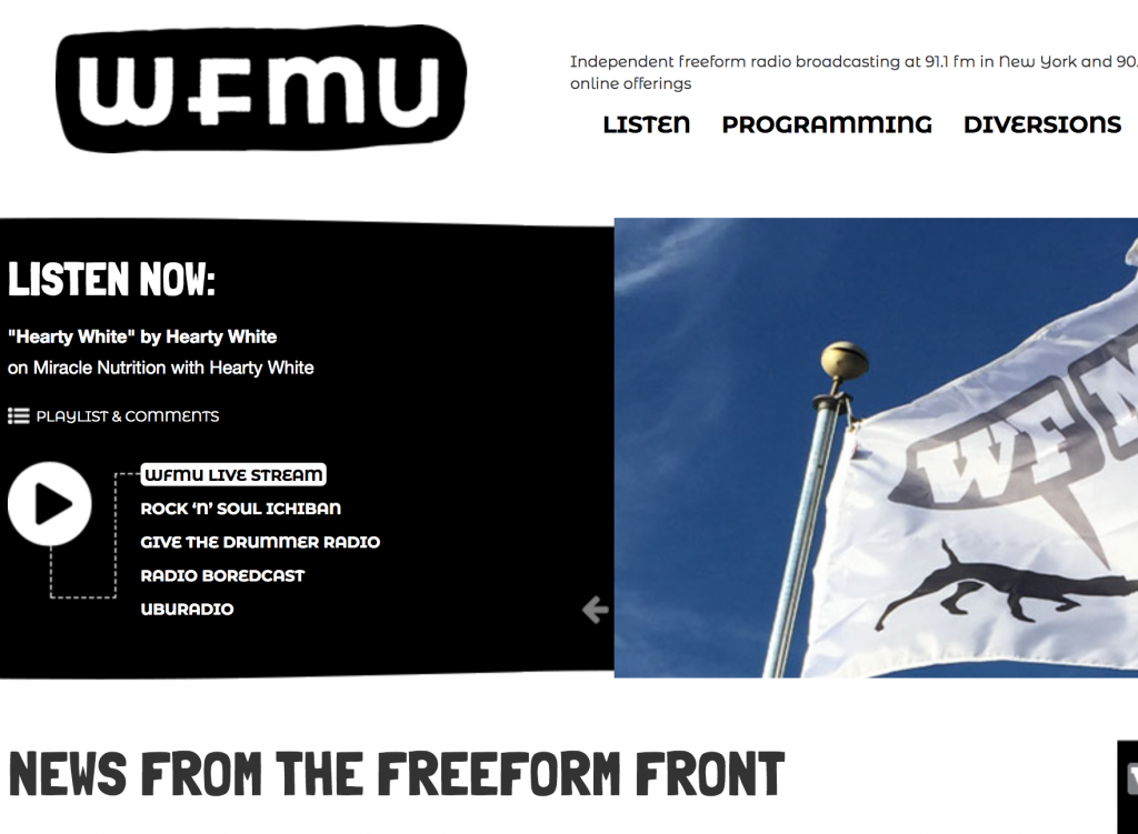 Free Music Download By WFMU