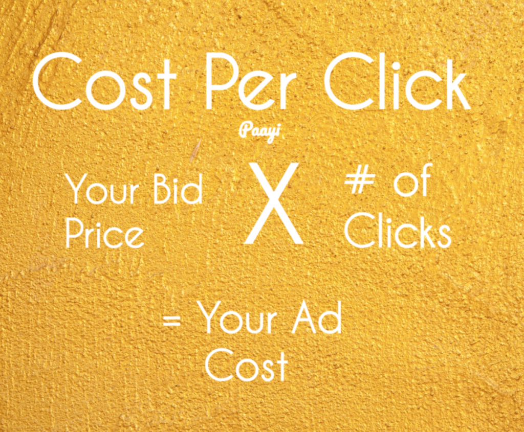 How Cost Per Click Works by Paayi
