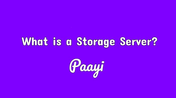 What is a Storage Server?
