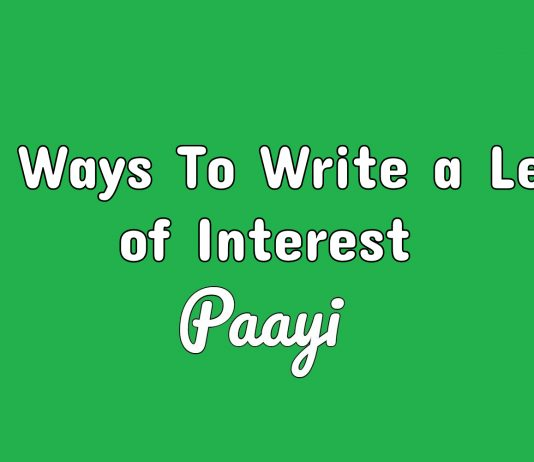 Best Ways To Write a Letter of Interest
