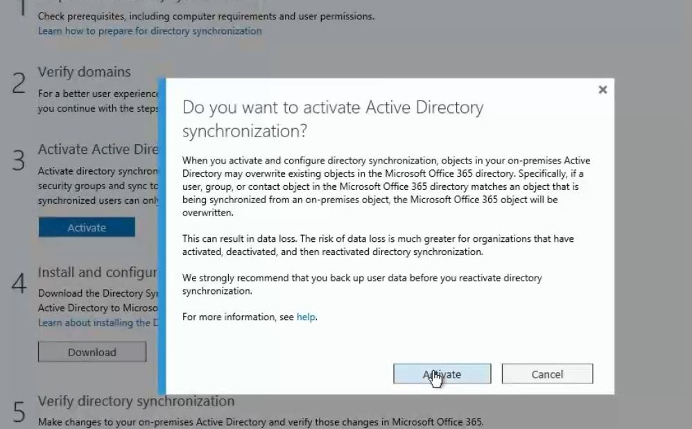 DirSync-Activation-in-office365