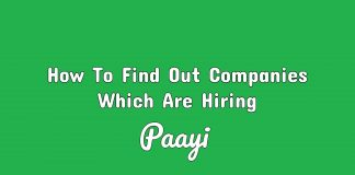 How To Find Out Companies Which Are Hiring