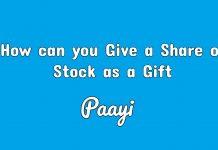How can you Give a Share of Stock as a Gift