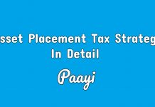 Asset Placement Tax Strategy In Detail