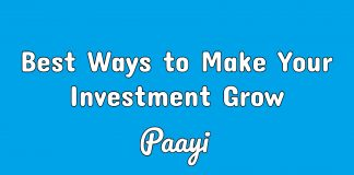 Best Ways to Make Your Investment Grow