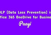 DLP (Data Loss Prevention) in Office 365 OneDrive for Business image