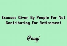 Excuses Given By People For Not Contributing For Retirement Image