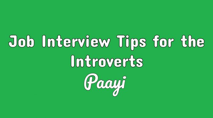Job Interview Tips for the Introverts
