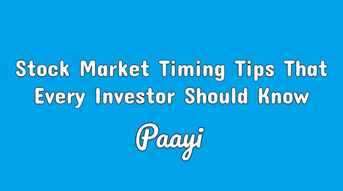 Stock Market Timing Tips That Every Investor Should Know