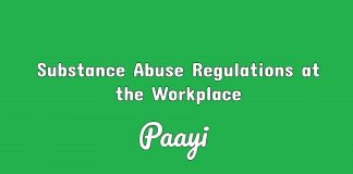Substance Abuse Regulations at the Workplace