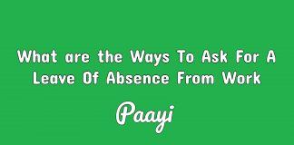 What are the Ways To Ask For A Leave Of Absence From Work