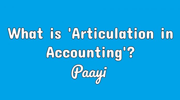 What is 'Articulation in Accounting'?