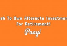 Wish To Own Alternate Investments For Retirement!