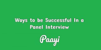 Ways to be Successful In a Panel Interview paayi