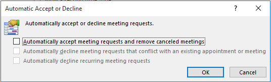 Meeting invites directly going to Calendar without showing inbox