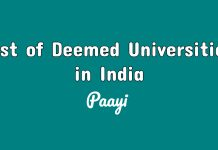 List of Deemed Universities in India