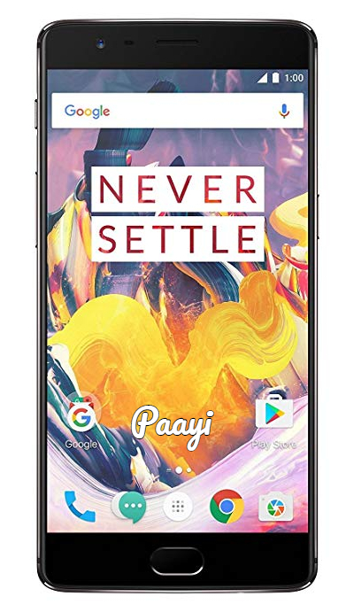 OnePlus 3T Front by paayi