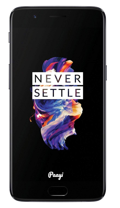 OnePlus 5 Front Black Color