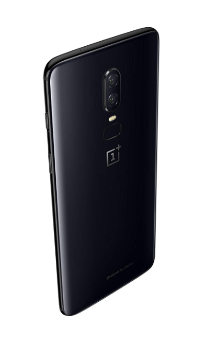 OnePlus 6 Black Back Side