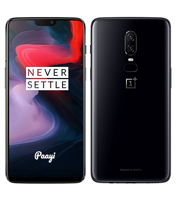 OnePlus 6 Front Back by Paayi