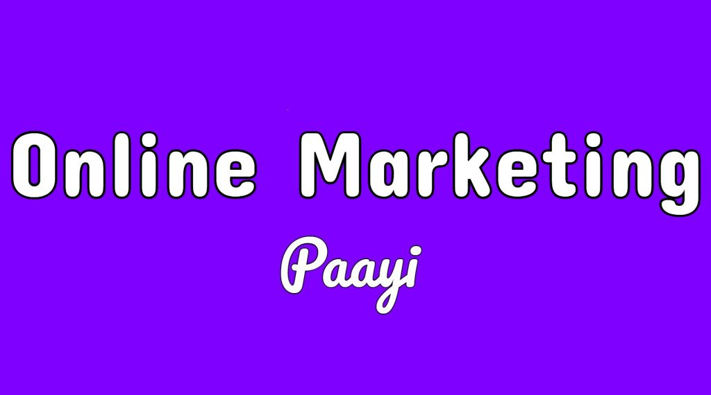 Online Marketing articles on paayi