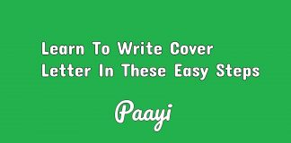 Learn To Write Cover Letter In These Easy Steps, Paayi