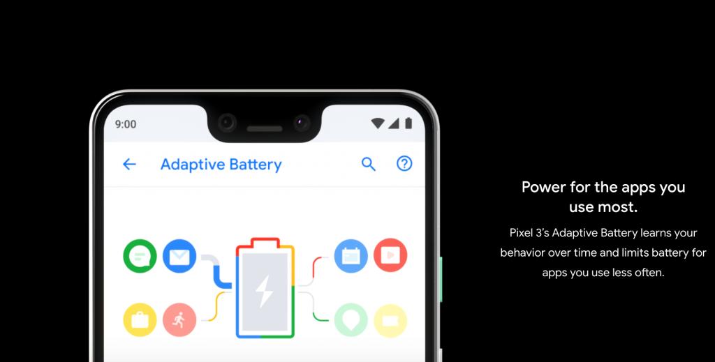 Pixel 3 Battery Size