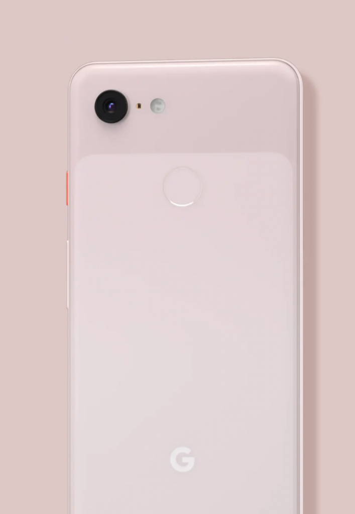 Pixel 3XL Not Pink Color Back side