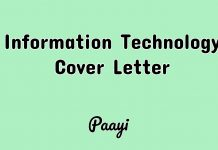 Information Technology Cover Letter, Paayi