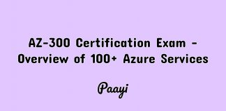 AZ-300 Certification Exam - Overview of 100+ Azure Services Image